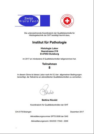 Duisburg Pathologie best 2017
